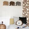 Ferm Living wandlamp kinderkamer olifant warm grey