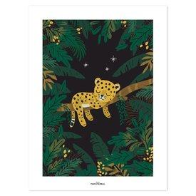 Lilipinso Lilipinso poster kinderkamer luipaard