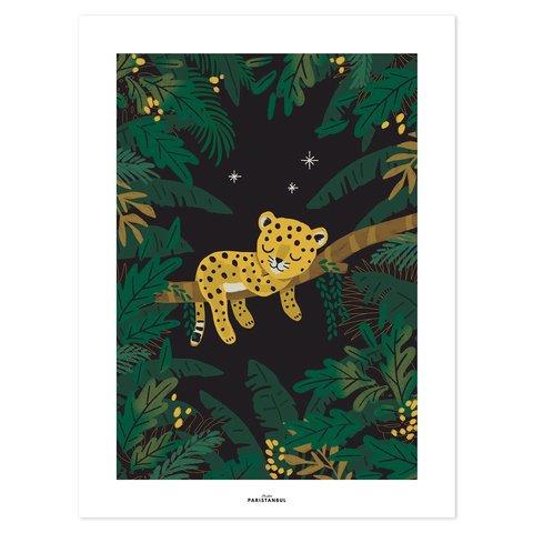 Lilipinso poster kinderkamer luipaard