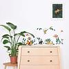 Lilipinso muursticker kinderkamer jungle dieren