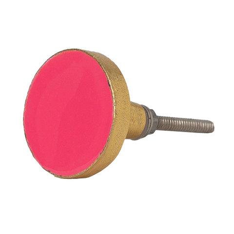 Bombay Duck deurknop  Bertie flamingo roze