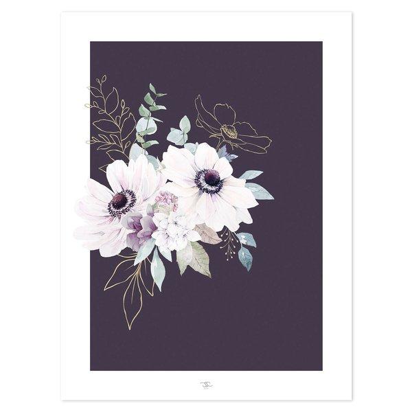 Lilipinso Lilipinso poster bloemen Anemonen