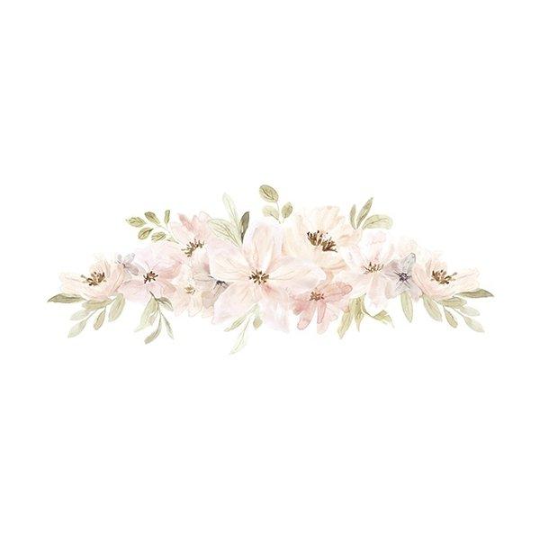 Lilipinso Lilipinso muursticker kinderkamer bloemen aquarel  Appoline