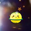 Sass & Belle nachtlampje planeet