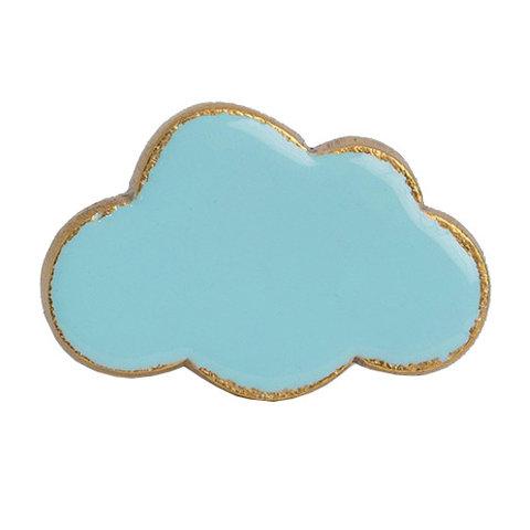 Bombay Duck deurknop  wolk lichtblauw