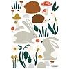 Lilipinso muursticker kinderkamer bosdieren Happy Forest