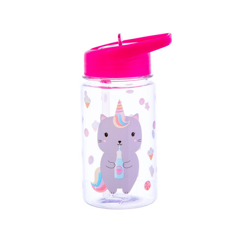 Sass & Belle drinkfles poes Caticorn