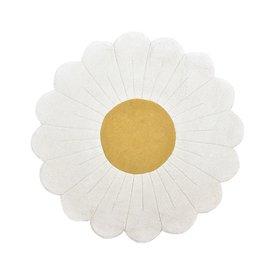 Lilipinso Lilipinso kindervloerkleed bloem wit