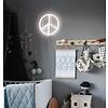 A Lovely Little Company wandlamp neon stijl Peace wit