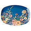 Rice melamine bord bloemen Flower Collage print