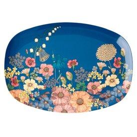 rice Denmark Rice melamine bord  bloemen Flower Collage print
