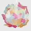 Kinderlamp vlinderliefde multikleur