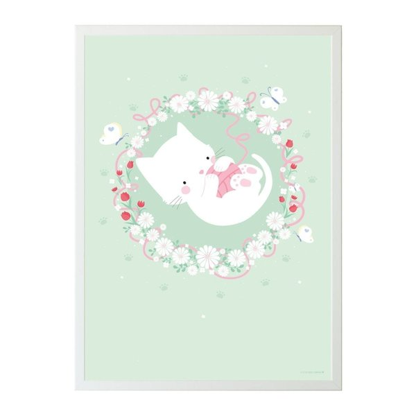 A Lovely Little Company A Lovely Little Company kinderposter poes 50 x 70
