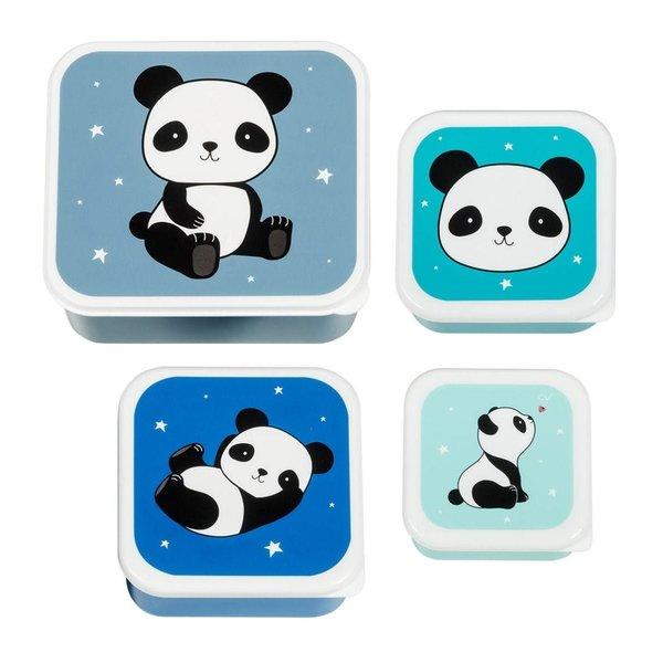 A Lovely Little Company A Lovely Little Company lunchbox panda set van 4