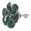 Clayre & Eef deurknop bloem donkergroen
