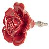Clayre & Eef deurknop bloem roos rood