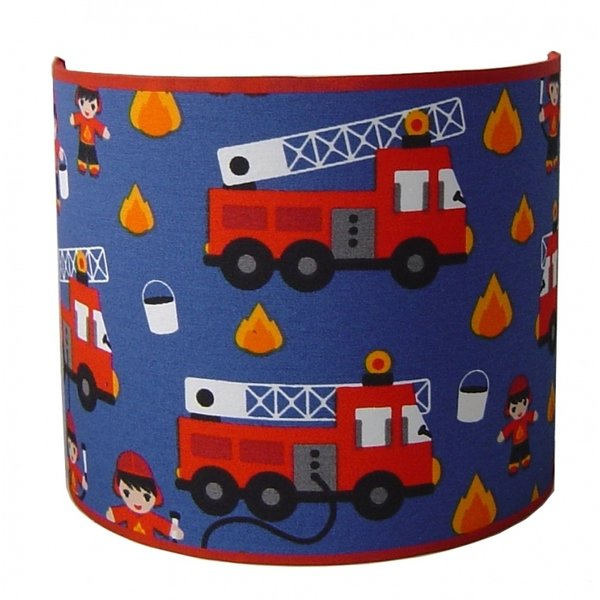 Designed4Kids Designed4kids wandlamp brandweer