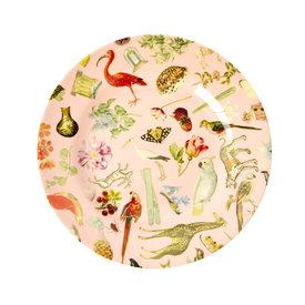 rice Denmark Rice melamine bord rond Art print roze