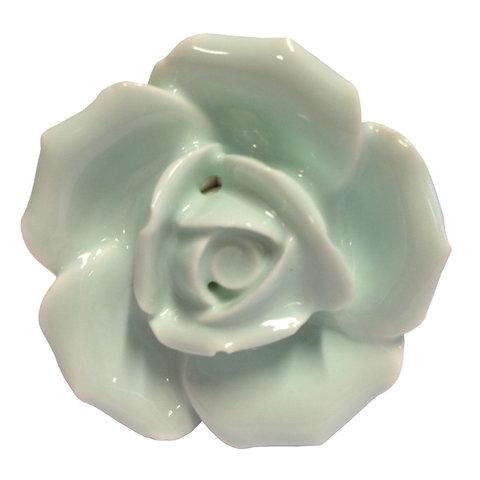 Deurknopje bloem roos lichtgroen
