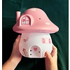 A Lovely Little Company nachtlamp paddenstoel elfjeshuis roze