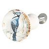 Clayre & Eef kastknopje vogel blauw