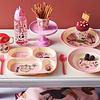Rice melamine diep kinderbord jungle flamingo