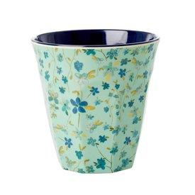 rice Denmark Rice melamine beker bloemen Blue Floral print