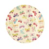 Rice melamine bord rond vlinders Butterfly print