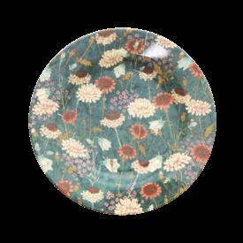 rice Denmark Rice melamine bord bloemen rond Fall Flower print