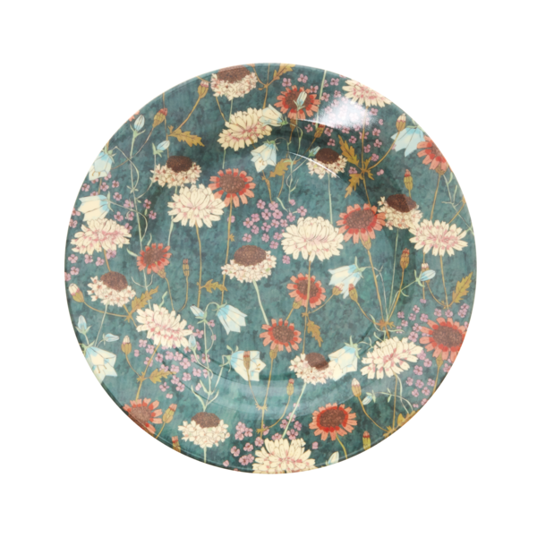 rice Denmark Rice melamine bord rond Fall Flower print