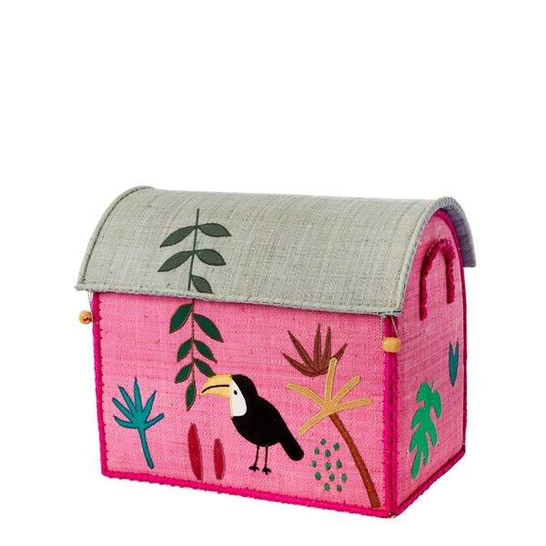 rice Denmark Rice speelgoedmand huis  Jungle toekan