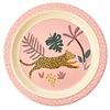 Rice melamine kinderbord jungle luipaard print