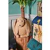 Rice speelgoedmand huis jungle neushoorn