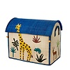 Rice speelgoedmand huis jungle giraffe