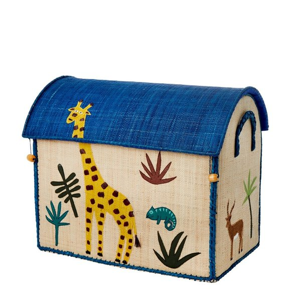 rice Denmark Rice speelgoedmand huis jungle giraffe