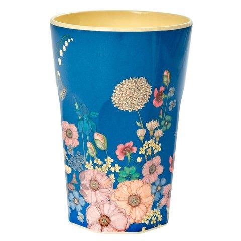 Rice hoge beker bloemen Flower Collage