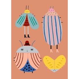 Petit Monkey Petit Monkey kinderposter Best Buggies 50 cm x 70  cm