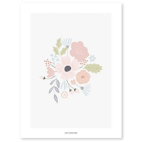 Lilipinso poster bloemen Bloom
