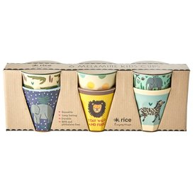rice Denmark Rice melamine bekers jungle blauw