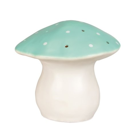 Figuurlamp paddenstoel vliegenzwam jade