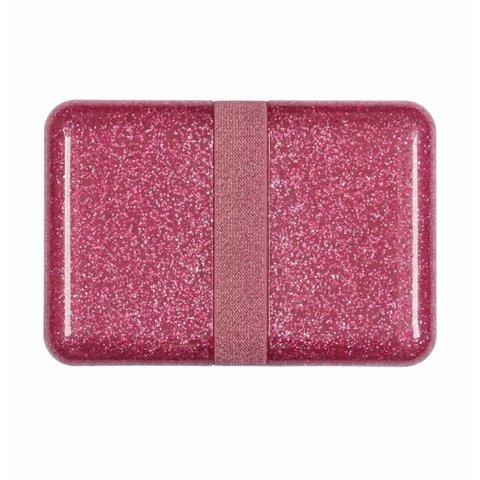 A Lovely Little Company lunchtrommel glitter roze