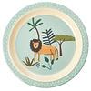 Rice melamine kinderbord jungle leeuw print