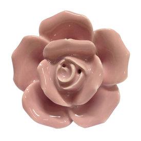 Clayre & Eef Clayre & Eef deurknopje bloem roos lichtroze