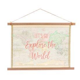 Sass & Belle Sass & Belle wandkaart World Explorer