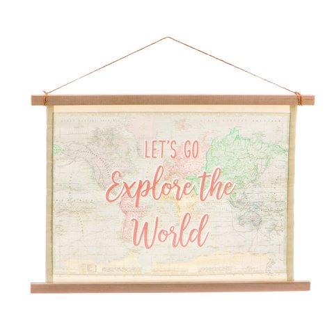 Sass & Belle wandkaart World Explorer