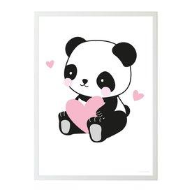 A Lovely Little Company A Lovely Little Company kinderposter panda love