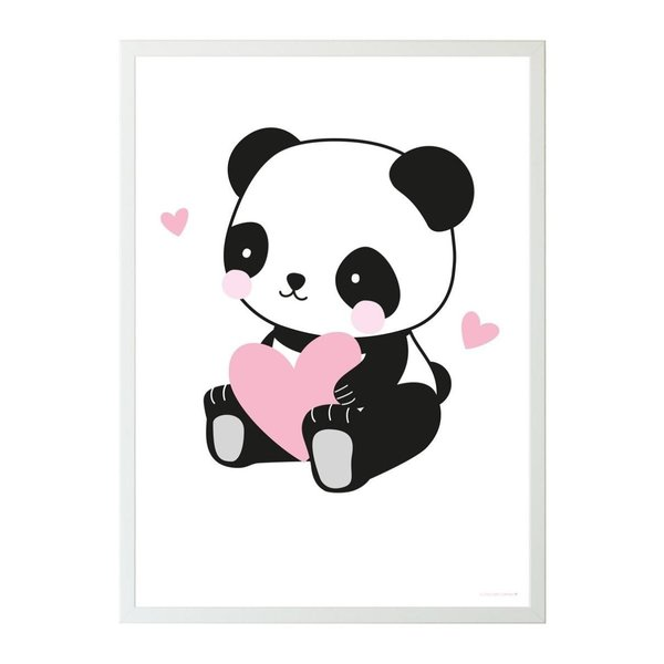 A Lovely Little Company A Lovely Little Company kinderposter panda love