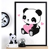 A Lovely Little Company kinderposter panda love