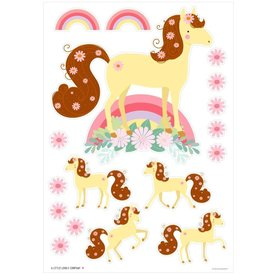 A Lovely Little Company A lovely Little Company muursticker paarden