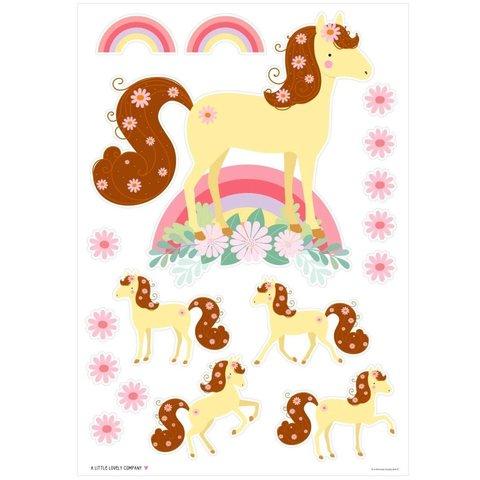 A lovely Little Company muursticker paarden